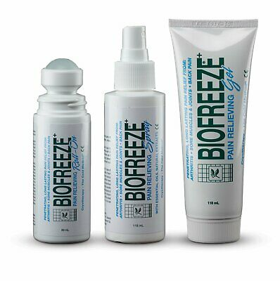 BioFreeze Pain Relief - Cold Therapy GEL, SPRAY, ROLL ON - MULTIBUY OPTIONS • 10.99£