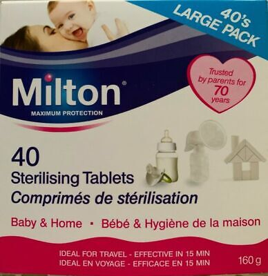 Milton Sterilising Tablets 28 Tablets (112g) - MULTI BUY OPTION • 4.79£