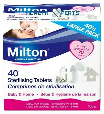 Milton Sterilising Tablets - MULTIBUY VARIATION LISTING READ DESCRIPTION • 4.99£