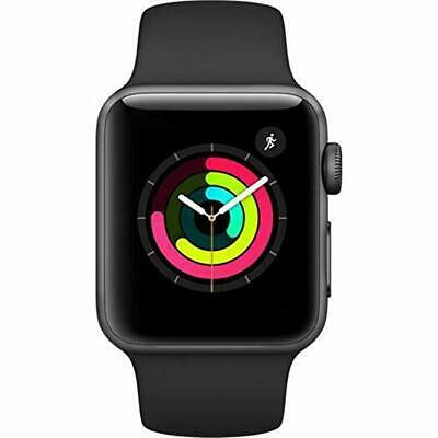 $ CDN334.43 • Buy New Apple Watch Series 3 38MM 42MM GPS Cellular Space Gray White Silver Aluminum