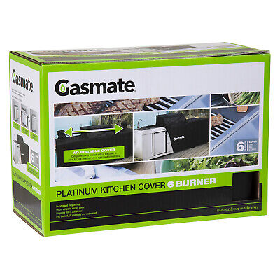 AU149.95 • Buy Gasmate Platinum Professional 6 Burner Kitchen Package BBQ Cover Gasmate