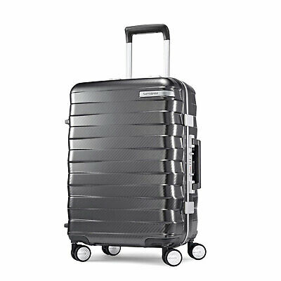 View Details Samsonite Framelock 20 Inch Hardside Carry On Luggage Spinner Wheels Suitcase • 111.99$