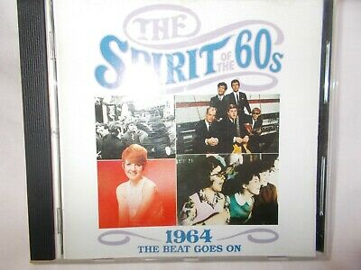 The Spirit Of The 60's - 1964 The Beat Goes On - Oz 24 Trk V/a Cd - Time Life • 7.66£