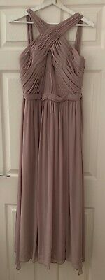 Watters Bridesmaid Dress US Size 8 Micah - Mink - Worn Once  • 80£