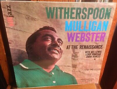 WITHERSPOON*MULLIGAN*WEBSTER At The Renaissance 1963 UK VOCALION MONO LP • 19.99£