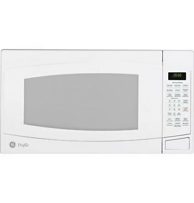 $249 • Buy BNIB GE Profile™ 2.0 Cu. Ft. Countertop Microwave Oven PEB2060DMWW