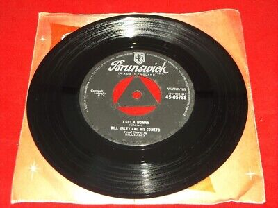 Bill Haley And His Comets:   I Got A Woman    1959  EX+  Tri   7  • 14.99£