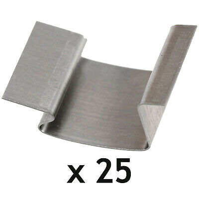 Greenhouse G Clips Stainless Steel Glass Glazing Window Sprung Clips X 25 • 7.99£