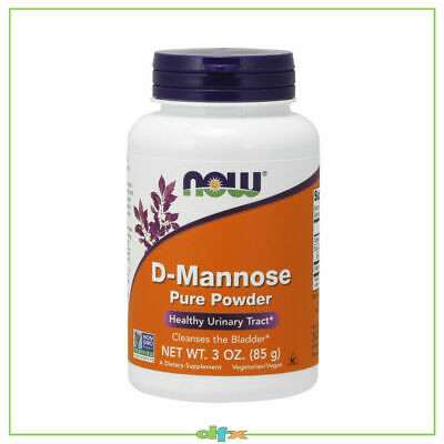 AU42.90 • Buy Now Foods D-Mannose, Powder 85g, 40 Serve, Urinary Tract Health UTI