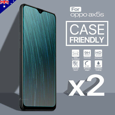AU4.95 • Buy 2x 9H Tempered Glass Screen Protector For OPPO A72 AX5S A3S A73 A5 A9 A52 A53s