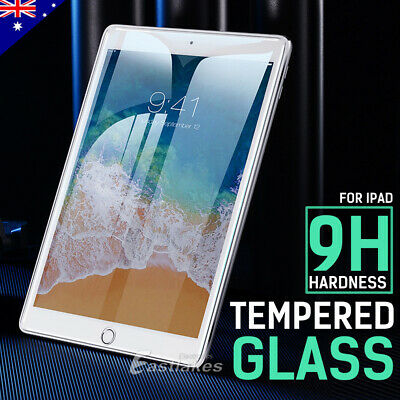 AU10.49 • Buy Tempered Glass Screen Protector For Apple IPad 5th 6th 7th 8th 10.2 Air 1 2 3 4
