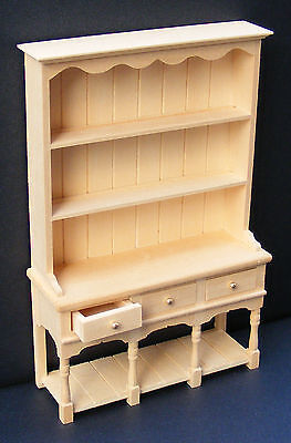 1:12 Scale Natural Finish 3 Drawer Dresser Tumdee Dolls House Miniature 006 • 6.99£
