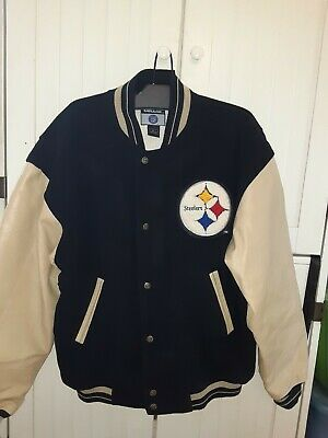 brand new afa34 c137b steelers varsity jacket