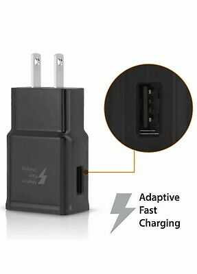 $ CDN5.67 • Buy Adaptive Fast Rapid Wall Charger For Samsung Galaxy S5 S6 S7 Edge Note 4/5 Black
