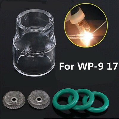 AU15.64 • Buy 6PCS#12 Fupa Glass Pyrex Cup TIG Welding Tool Set For WP-9/WP-17 18 26 Gas Lens