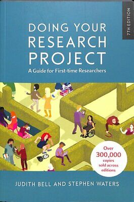 £22.14 • Buy Doing Your Research Project: A Guide For First-time Researchers 9780335243389