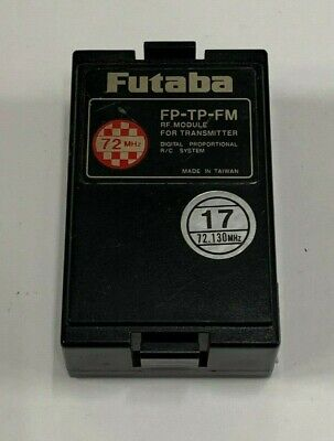 $29.95 • Buy Futaba FP-TP-FM 72mhz RC Remote Control Airplane Transmitter Module Channel 17
