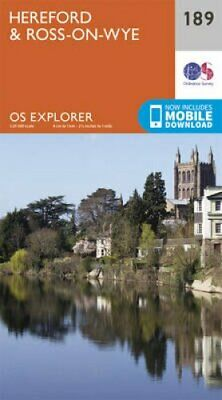 £7.44 • Buy Hereford And Ross-on-Wye By Ordnance Survey 9780319243824   Brand New