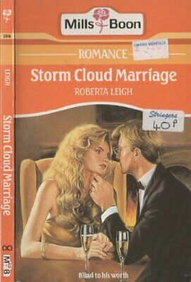 Storm Cloud Marriage, Roberta Leigh, Used; Good Book • 3.28£