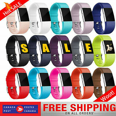 $ CDN6.99 • Buy For Fitbit Charge 2 Band Replacement Sports Watch Strap Wristband Small Large SL