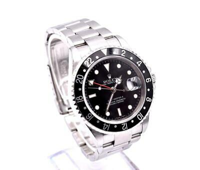 $ CDN14271.67 • Buy Rolex Stainless Steel GMT Master II Watch Ref. 16710