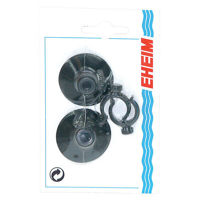 £8.35 • Buy Eheim Suction Cups With Hose Clip 594 Tubing 5/8  16mm. To The Usa