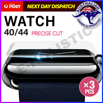 AU7.95 • Buy 3x AQUA Full Screen Protector For Apple Watch Series SE 6 5 4 3 2 40/44mm IWatch