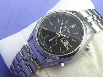 $ CDN1410.24 • Buy VINTAGE 1970'S SEIKO CHRONOGRAPH 7016-8001 (5 Hands) - ORIGINAL CONDITION  #7131