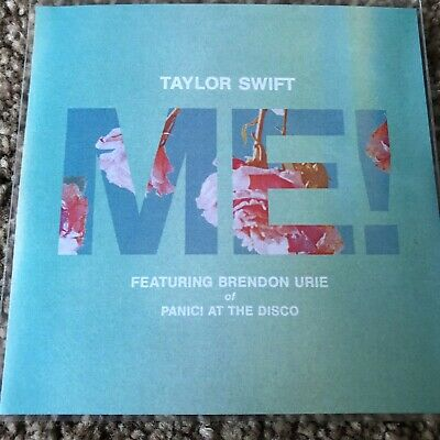 """Taylor Swift & Brendon Urie (panic At The Disco) """"me!  7 Remix New Promo Cd • 6.99£"""