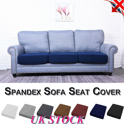 1-4 Seats Stretchy Sofa Seat Cushion Cover Replacement Couch Slipcover Protector • 9.29£