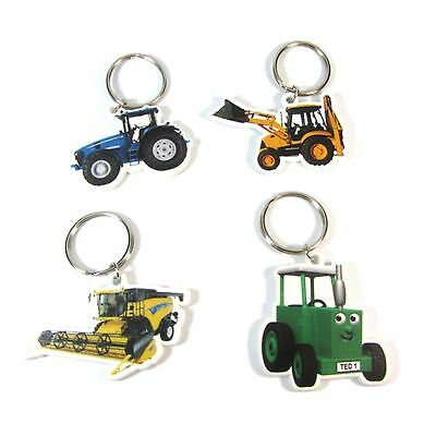 AU9.60 • Buy 4 X Official Licensed TRACTOR TED Keyrings Party Bag Fillers