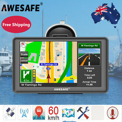 AU79.99 • Buy Awesafe 7  Truck Car GPS Navigator 8GB Navigation System Sat Nav Free AU Maps