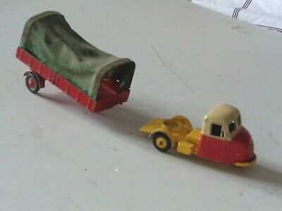 Budgie Diecast Toys---scammell Scarab---covered Semi Trailer • 25£