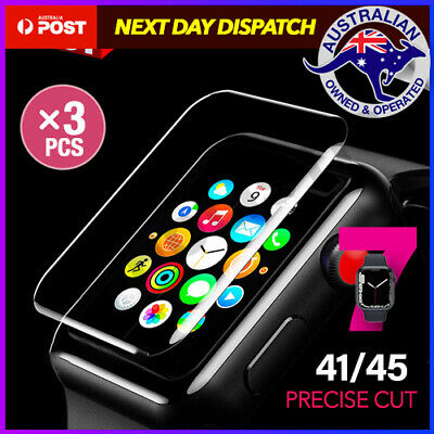 AU6.95 • Buy 3x AQUA Screen Protector For Apple Watch Series SE 6 5 4 3 38/42/40/44mm IWatch