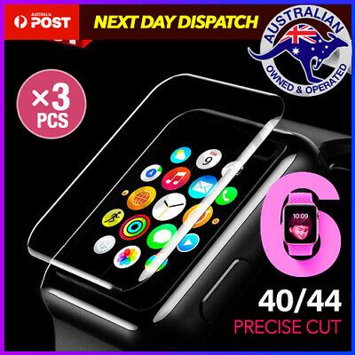 AU7.95 • Buy 3x AQUA Screen Protector For Apple Watch Series SE 6 5 4 3 38/42/40/44mm IWatch