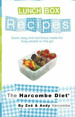 The Harcombe Diet Lunch Box Recipes-Zoe Harcombe, Andy Harcombe • 5.09£