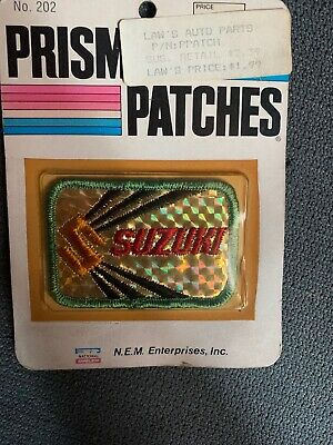 $12.99 • Buy Vintage Embroidered Automobile Patch Suzuki Prism Patches