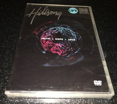 $13.50 • Buy Hillsong - Faith + Hope + Love Live DVD Rare OOP New Sealed
