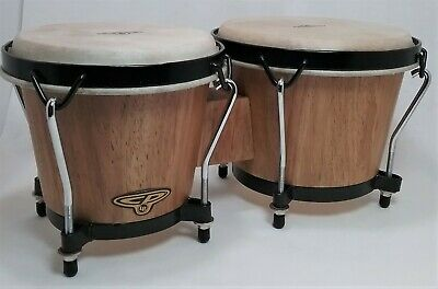 CP Traditional Wood Bongos Latin Percussion Instrument 6  And 7  Drums NICE SET • 38.98$