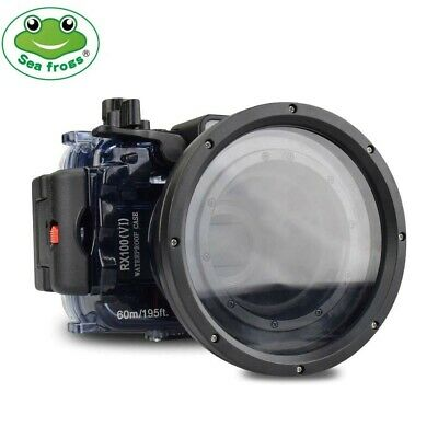 Seafrogs 60m Underwater Camera Diving Housing Case For Sony RX100 VI Mark 6 • 149£