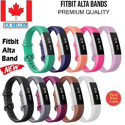 $ CDN7.55 • Buy For Fitbit Alta HR Band Replacement Wrist Silicone Bands Watch Small Large Ace