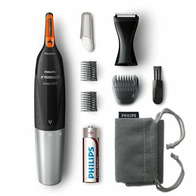 AU234.27 • Buy Philips Norelco Nose Hair Trimmer 5100, NT5175/42, Washable Mens Precision Groom
