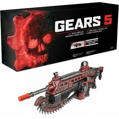 $269.98 • Buy Gears 5 Gears Of War 5 Weapon Prop Gun Replica Crimson Lancer MK3 1:1 Lifesize