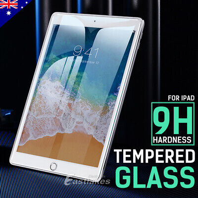 AU9.95 • Buy Screen Protector For IPad 6th 5th Gen IPad Air 2 1 9.7'' Air 3 Tempered Glass