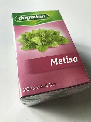 Melissa ( Lemon Balm) Herbal Tea (1 Box / 20 Tea Bags) Melisa Cay - Free Uk Post • 6.09£