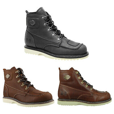 $ CDN256.51 • Buy Harley Davidson Mens Boots Hagerman Casual Ankle Biker Leather