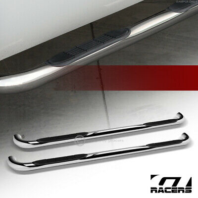 $125 • Buy For 1999-2016 Ford F250/F350 Superduty Crew Cab 3  Side Step Nerf Bars Hd Chrome
