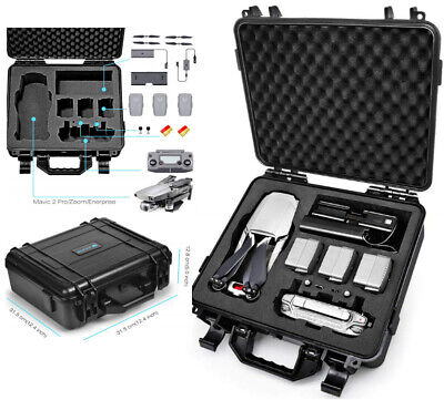 AU132.68 • Buy Waterproof Hard Carrying Case For DJI Mavic 2 Pro Mavic 2 Zoom Mavic 2 Fly More.