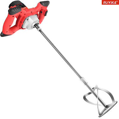 2100W Electric Plaster Paddle Mixer Mortar Cement Paint Stirrer Plastering Whisk • 47.99£