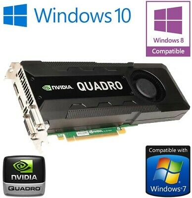 $ CDN381.96 • Buy Nvidia Quadro K5000 4GB GDDR5 Pci-E Double Displayport 2x DVI Graphique Carte